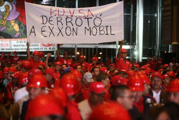 VENEZUELA VS. EXXON MOBIL,Y CONOCOPHILLIPS - Hugo Chávez en 2007...