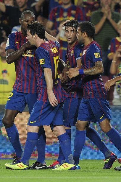 Barcelona festejaba un resultado que le daba tranquilidad.