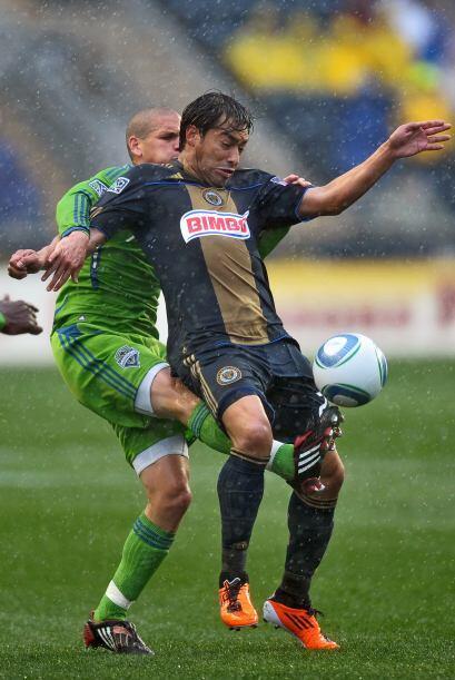 Carlos 'Pescadito' Ruiz abrió el marcador para el Union.