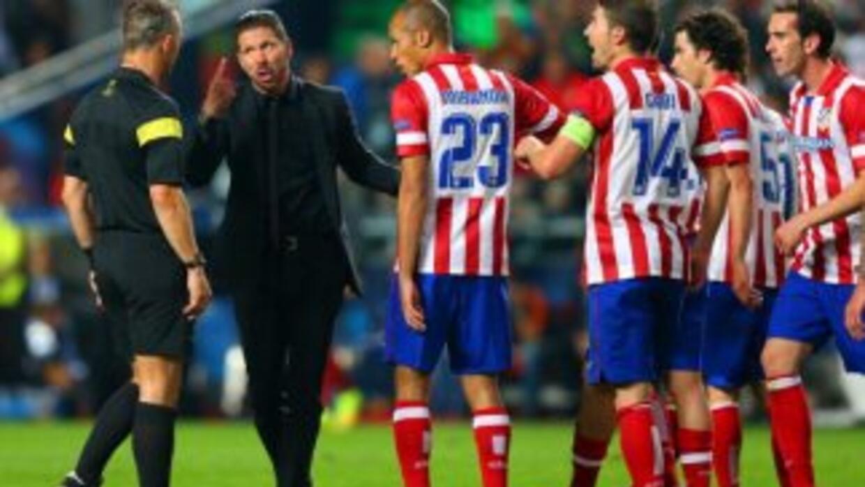 Atlético de Madrid sufrió un gran desgaste físico.