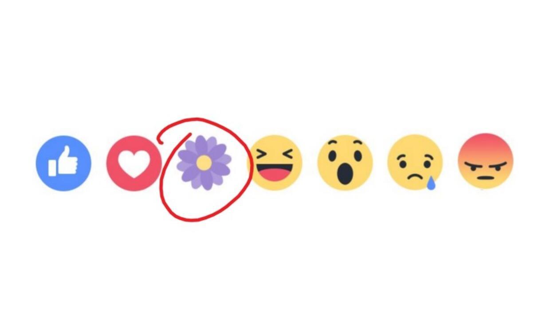Facebook ha revivido el ícono de la flor violeta para celebrar el...