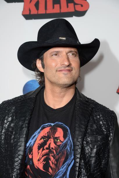 Robert Rodríguez y su inseparable sombrero vaquero.