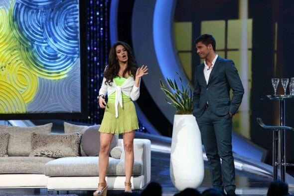 Alina Rodríguez de Cuba fue elegida por Lupita para actuar con Ma...