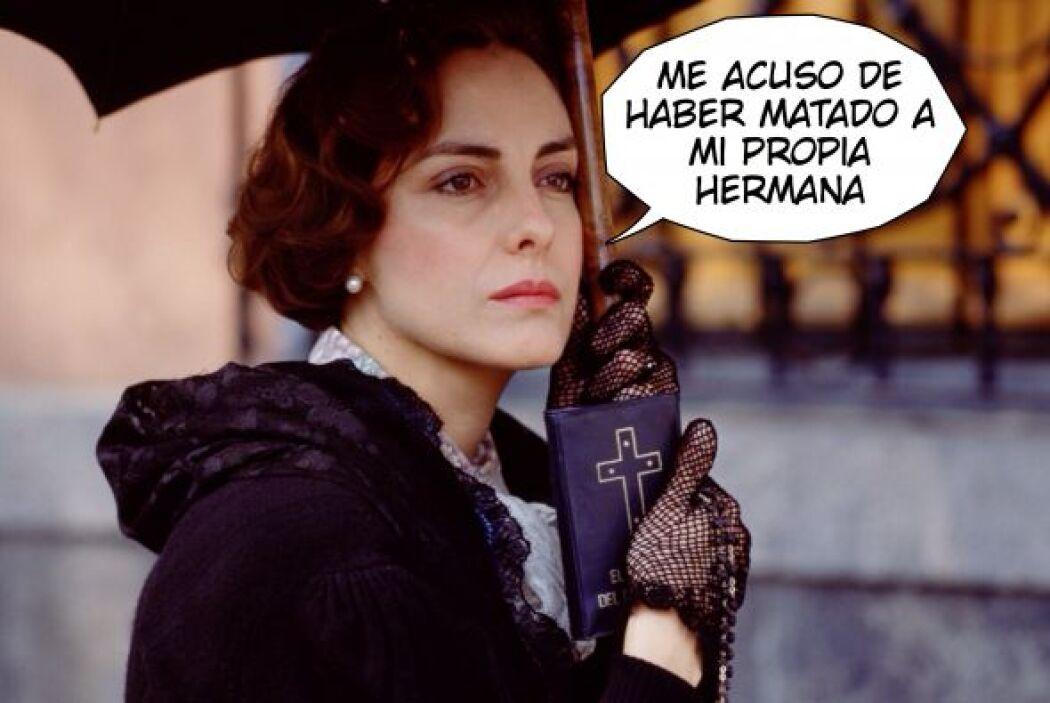 """En """"Cadenas de Amargura"""", """"Evangelina"""" (Diana Bracho) dejó helado al púb..."""