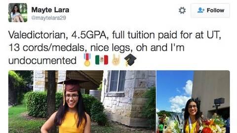 Mayte Lara's original tweet