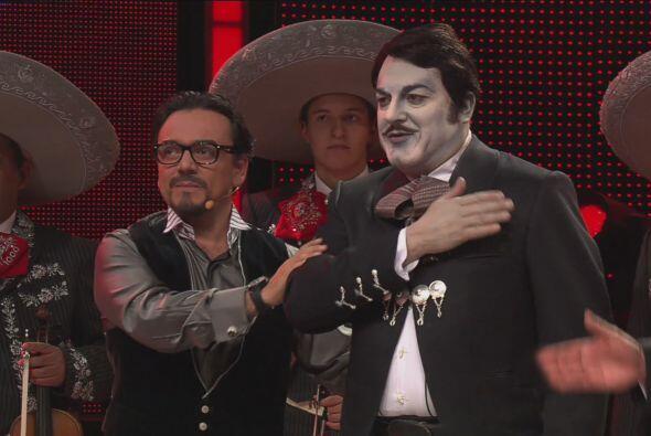 Antonio Mejía no superó la imitación de Pedro Infante, por lo que se des...