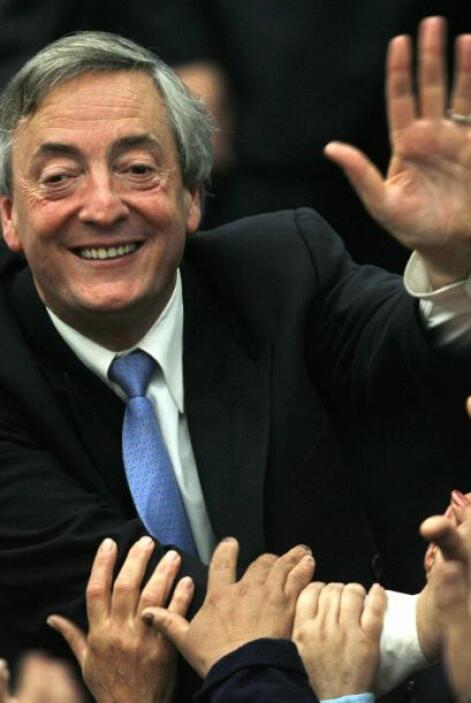 Argentina lloró la muerte del ex presidente Néstor Kirchner, esposo de l...