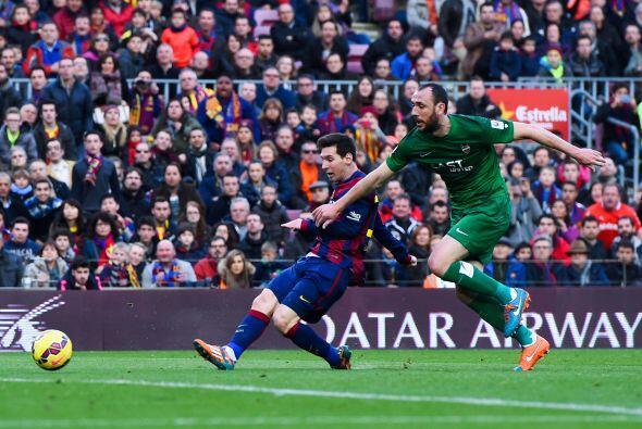 El 10 del Barcelona deleitó a los aficionados con sus acostumbrad...