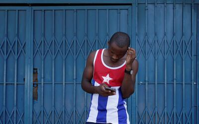 Though the internet is expensive to access, more Cubans are accessing th...