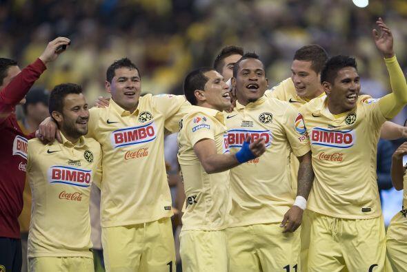 Las Águilas alzaron el título del Apertura 2014 con siete...