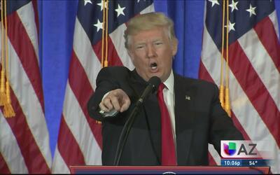 Reacciones por la rueda de prensa de Donald Trump
