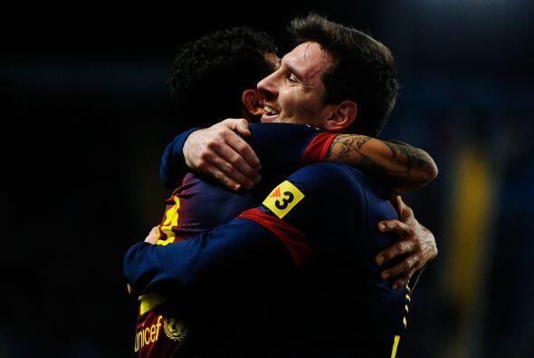 El 4-2 final firmó el pase para Barcelona, Málaga se despidió de la luch...