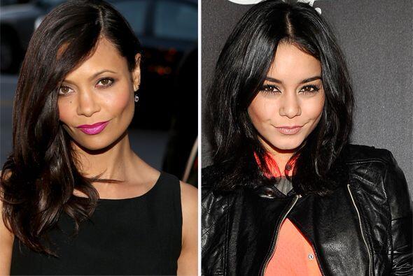 Vanessa Hudgens podría ser hija de Thandie Newton.  Aquí l...