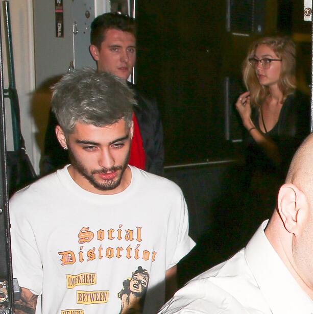 La supermodelo y el ex One Direction en plena 'date'.