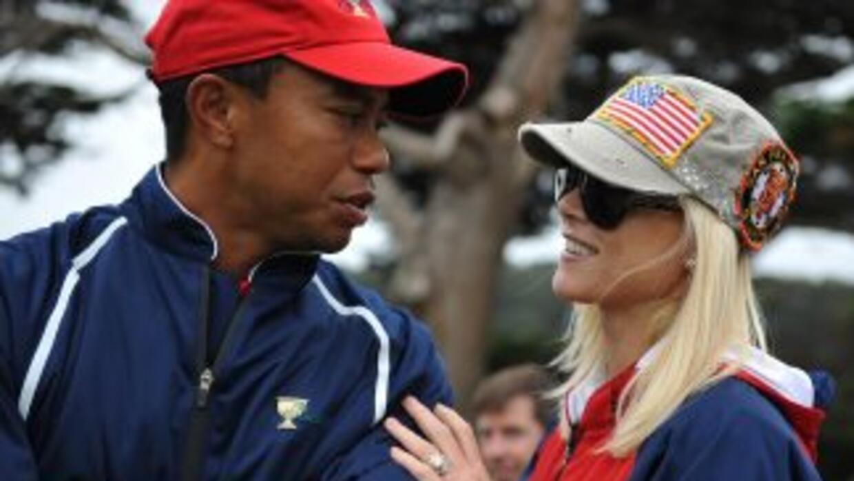 Después de un gran escándalo, Tiger Woods se divorció de Elin Nordegren.