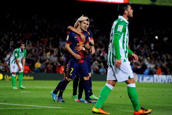 Justo antes del cambio, Villa al fin se sacó la presión de sus errores e...
