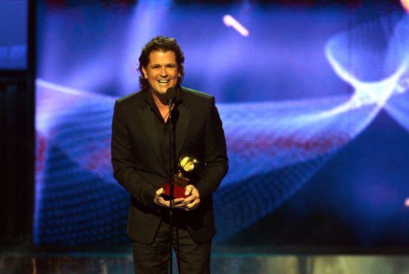 El cantante agradeció a su país, Colombia, por el apoyo que ha recibido...