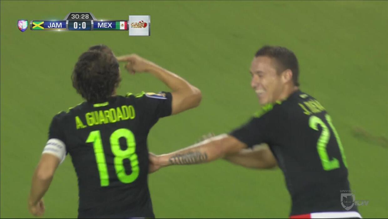 Guardado anota el primero de México y se acerca a Dempsey como máximo go...