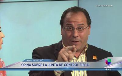 Jaime Perelló asegura que no le dan la espalda al Gobernador