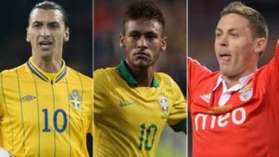 De la terna de Ibrahimovic, Neymar y Matic saldrá el ganador al mejor go...