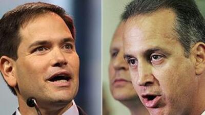 El Senador Marco Rubio (R-FL) y el representante Mario Díaz-Balart (R-FL).