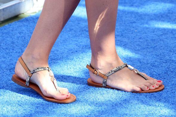 Además de ser súper 'fresh', las 'flip flops' tienen la ventaja de ser f...