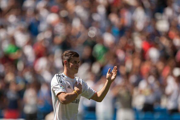 Gareth daba a entender que agradecía el cariño de la gente y del Madrid.