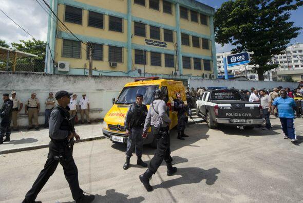 Un hombre armado abrió fuego la mañana de este jueves en una escuela de...