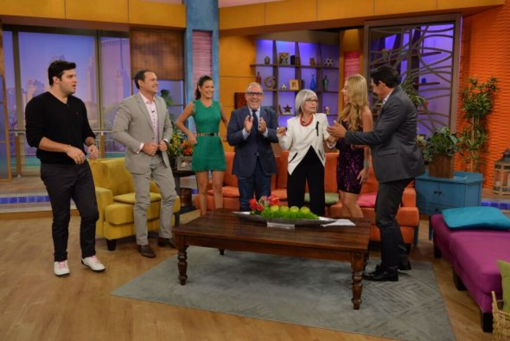 ¡Rita Moreno no paraba de bailar!
