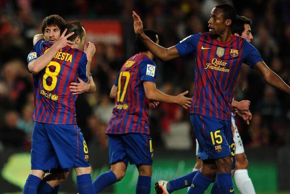 El Barcelona volvió a ser el de siempre. Ganó , gust&oacut...