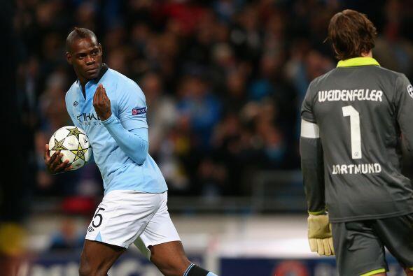 No falló 'Super Mario' y el City sacaba un valioso empate que ya parecía...