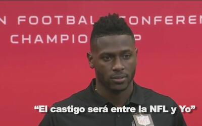 "Antonio Brown se disculpó por su video: ""Fue una falta de respeto al coach"""