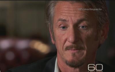 """Sean Penn siente remordimiento por encontrarse con """"El Chapo"""""""