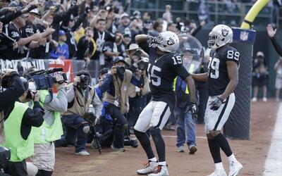 Los Raiders se mantienen firmes en el camino a los Playoffs.