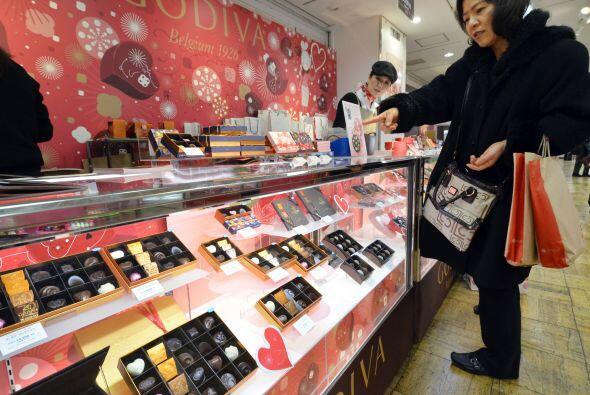 En Japón los regalos del día de San Valentín están a la orden del día, p...