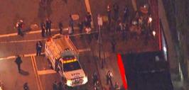 Las autoridades tomaron control de los alrededores de Union Square.