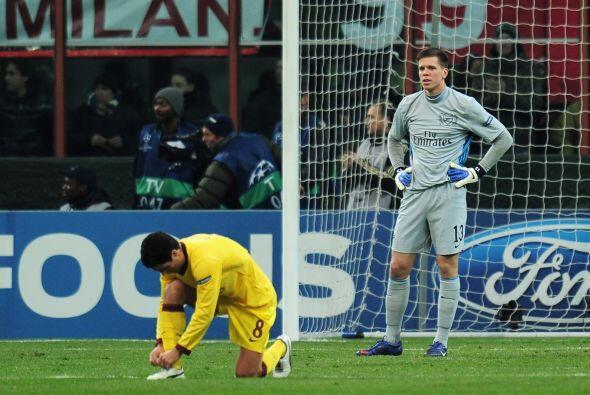 Arsenal no lo podía creer, pues afectaba de gran forma su apuesta...
