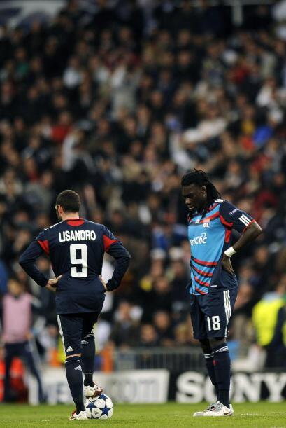 Entre los jugadores franceses todo era tristeza.