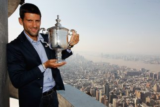 Novak Djokovic ganó tres de los cuatro Grand Slams de 2011.