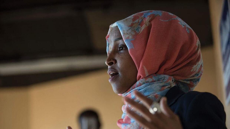 Ilhan Omar, legisladora por Minnesota