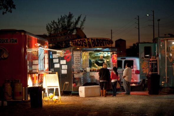 Así que los camiones de comida gourmet parece que han llegado para queda...