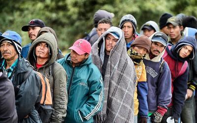 Campos de refugiados en la frontera mexicana, uno de los grandes temores...
