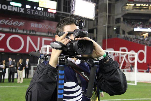 Por supuesto, las cámaras de Univision Arizona estuvieron presentes y fu...