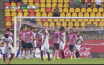 Guzmán estrelló su disparo en el travesaño y se perdió el empate ante Ch...