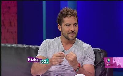 David Bisbal se confiesa con Milly Cangiano