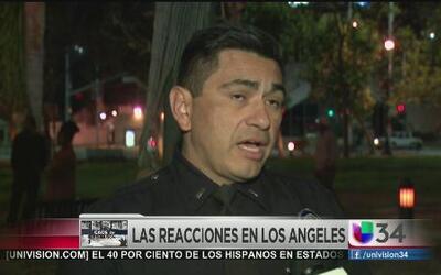 Alerta táctica continúa en Los Ángeles por caso Ferguson