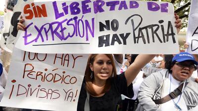 Venezuela, en deplorable estado en el Día Mundial de la Libertad de Prensa