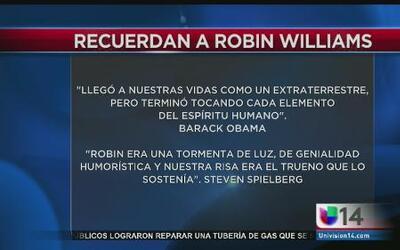 Recuerdan a Robin Williams