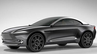 El DBX es el primer auto completamente eléctrico de la marca.