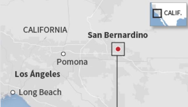 La policía abatió a los dos sospechosos del ataque en San Bernardino que...